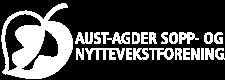Nettsidelogoen til Aust-Agder sopp- og nyttevekstforening